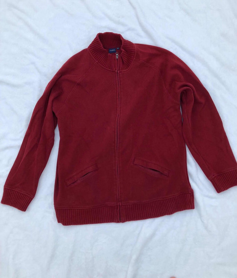 Sweater / Sudadera Color: Rojo, Marca: Tasso, Talla Eg