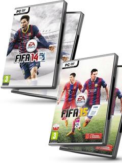 Fifa 14 Pc + Fifa 15 En Español - Juegos Pc