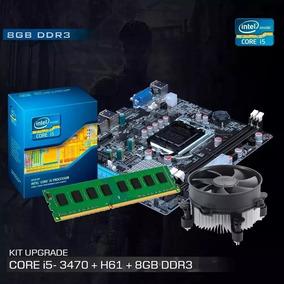 Kit Processador I5 3470 Placa H61 8gb+ Cooler Frete Grátis