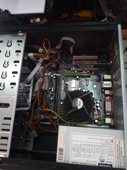 Cpu Torre Pentium 4 3.20ghz, 2gb Ddr1 400 Hdd 40gb