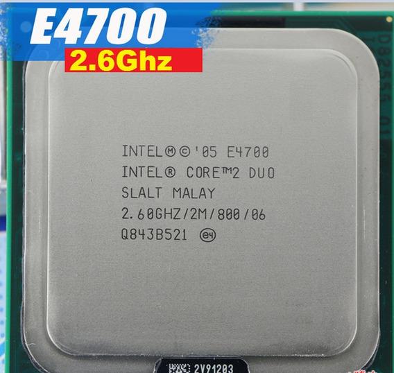 Processador Core 2 Duo E4700 2.6 Ghz 800 Mhz 2m Cache