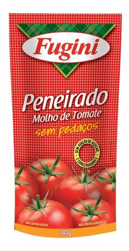 Molho De Tomate Trad. Peneirado Fugini Sache 340g