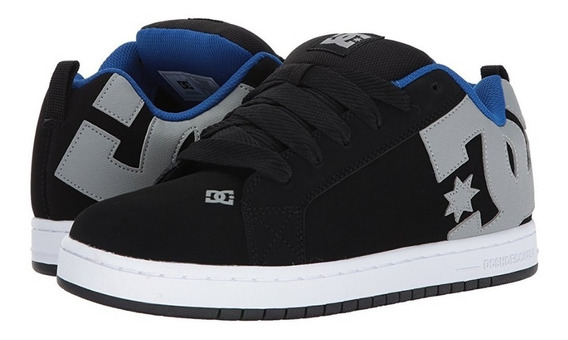 Dc-shoes-zapatos-court-graffik-100% Originales