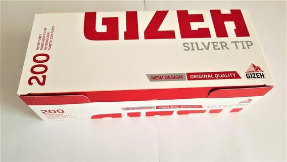Tubos Con Filtros Para Armar Cigarrillos Gizeh (200) Tubos