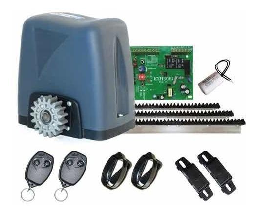 Kit Motor Automatizado Portão Deslizante Nano Turbo Rossi