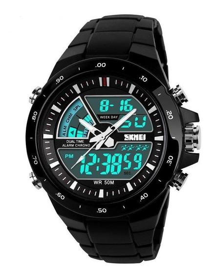 Relógio Masculino Digital Esportivos Original Relogio Skmei
