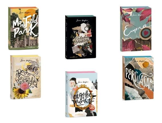 Persuasão Orgulho E Preconceito Coleção Jane Austen 6 Livros