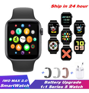 Relógio Smartwatch Iwo 12 Max2.0 Gps + Pulseira De Brinde