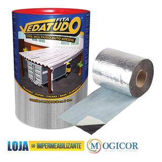 Fita Impermeabilizante 10cm X 10m Aluminio Veda Autoadesiva