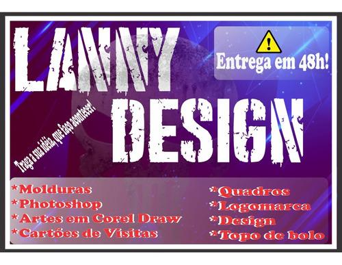 Imagem 1 de 4 de Design, Cartões De Visita, Arte, Logomarca, Photoshop, Corel