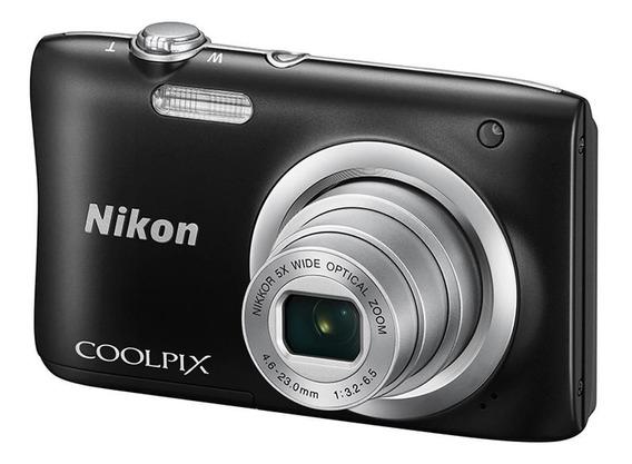 Cámara Nikon Coolpix A100 20 Mpx 5x + Gtía 6m Y Env Gratis