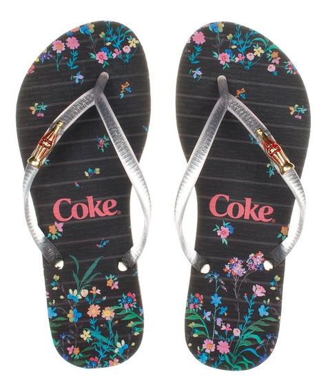 Chinelo Coca Cola Sweet Flower Cc2736