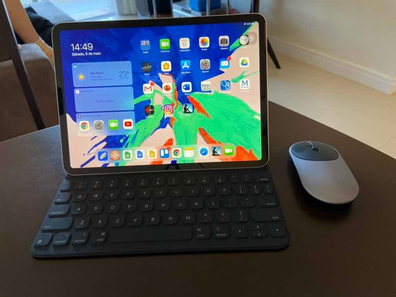 iPad Pro 11 256gb + Apple Keyboard Original + Mouse + Brinde