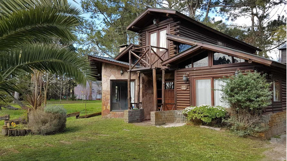Casa - Cabaña En Alquiler Temp. En Costa Del Este Completo