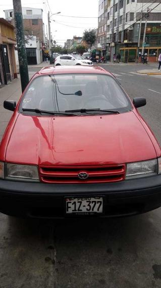 Toyota Tercel Rojo Motor 1.3 Color Rojelegante Y Conservado