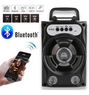 Parlante Portatil Mini, Usb, Radio Fm, Bluetooth,memorias