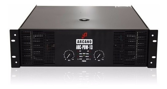 Arcano Potencia Amplificador Arc-pdw-13 5400 Watts 220v Sj