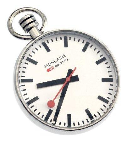 Mondaine Swiss Railways A6603031611sbb Reloj De Bolsillo Par