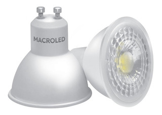 Lampara Dicroica Foco Led 7w Gu10 220v Cálida Macroled