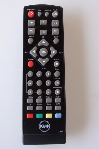 Controle Remoto Conversor Digital Keo/intelbras Original