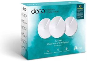 Roteador E Repetidor Tp-link Deco M5 Ac1300 3-pack 3 Kit