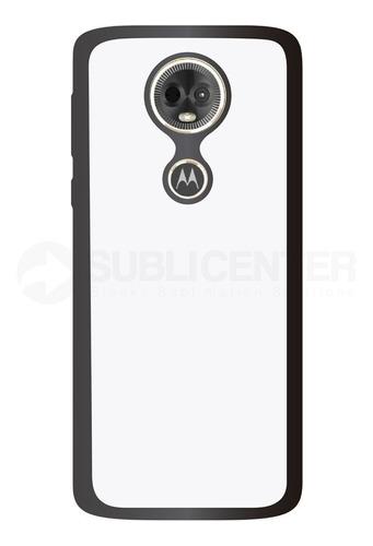 Imagen 1 de 1 de Funda Carcasa Case Sublimación Motorola E5 Plus Tpu
