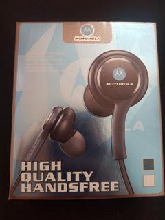 Fone De Ouvido Motorola Preto- High Quality Handsfree