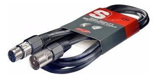 Cable Stagg Canon Canon 3 Metros Xlr Balanceado