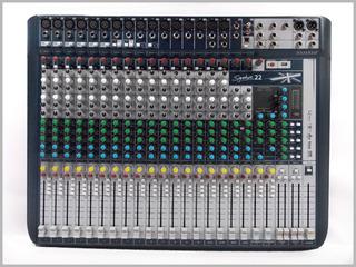 Manual De Operacion De Soundcraft - Consolas de Sonido en