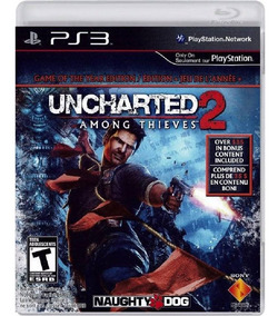 Uncharted 2 Among Thieves - Mídia Física / Ps3