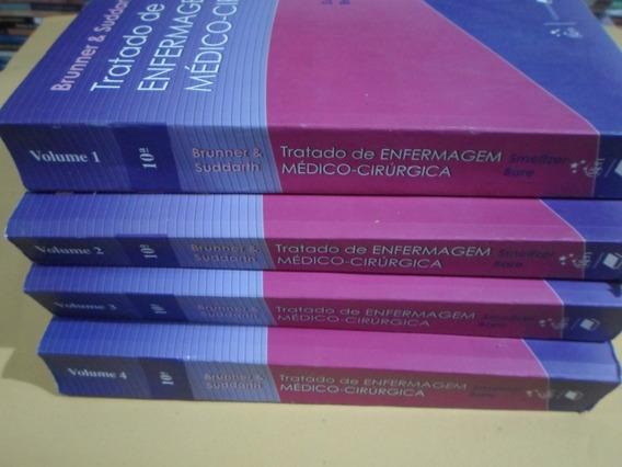 Coleção Tratado De Enfermagem Médico-cirúrgica