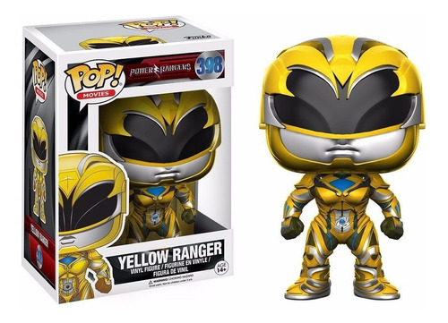 Funko Pop #398 - Yellow Ranger - Power Rangers Movie 2017