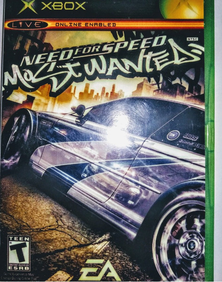 Xbox - Need For Speed Most Wanted - Original Americano