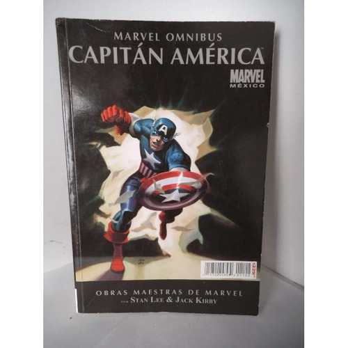 Capitan America Omnibus Obras Maestras De Marvel Televisa