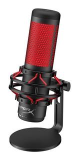 Microfono Condensador Gamer Hyperx Quadcast Led Anti Vibracion Touch Pc Ps4 Gtia Oficial