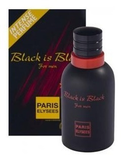 Perfume Black Is Black 100ml - Paris Elysees