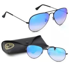 7f61ca14a Ray Ban Aviador Preto - Óculos De Sol Aviator no Mercado Livre Brasil