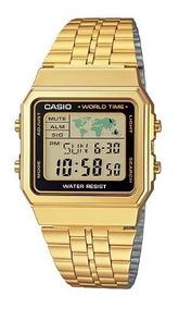 Relógio Feminino Casio Vintage A500wga-1df - Original