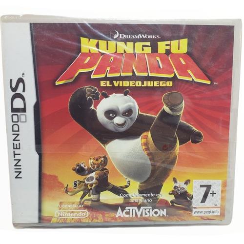 Imagen 1 de 4 de Juego Kung Fu Panda El Videojuego Fisico Sellado Nintendo Ds