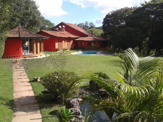 Espetacular Chácara - Casa Térrea Com 3 Suítes - Recanto Verde - Vgp - Ch0001