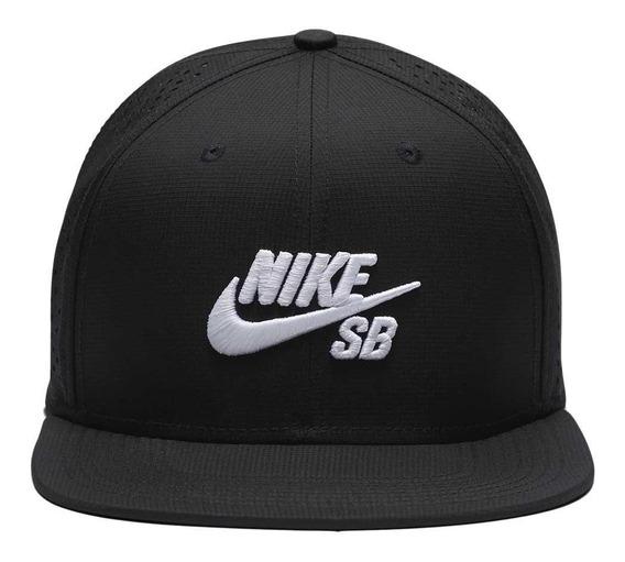 Gorra Cap Nike Sb Negra Icon Pro