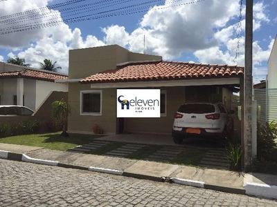 Casa Em Condominio A Venda Conceição Feira De Santana Com 3 Quartos Sendo Uma Suite , Sala, Lavabo, Varanda, Área De Serviço, Cozinha, Banheiros, 3 Vagas, 206 M². - Ca00217 - 32643412