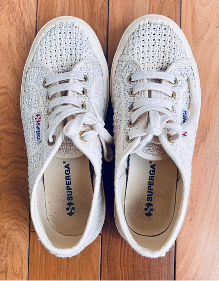 Zapatillas Superga Europeas De Crochet