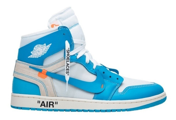 Air Jordan 1 X Off White Unc