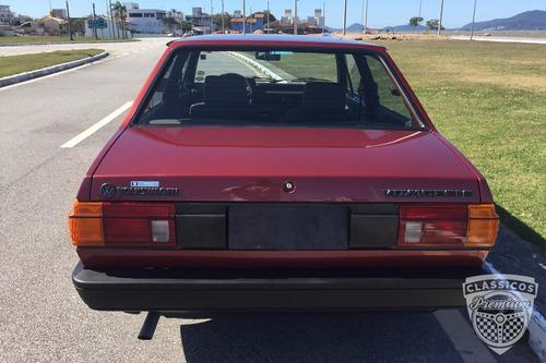 Imagem 1 de 14 de Vw Voyage Gls 1987 87 - Carro Impecável Antigo - Placa Preta