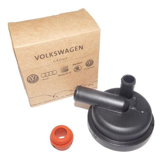 Válvula + Bucha Antichama Motor Ap Original Volkswagen