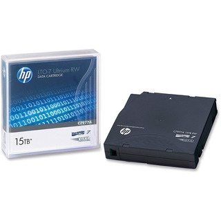 Cartucho Datos Re-escribible Hp Ultrium 15tb Lto-7 C7977a