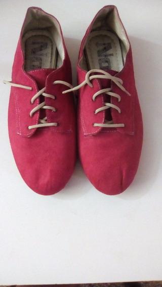 Zapatos De Niña Rojo Talla 33