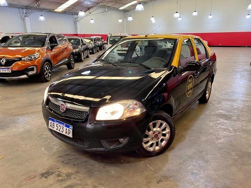Fiat Siena 1.4 El 2017 Taxi C/licencia $740.000 Y Cuotas!!