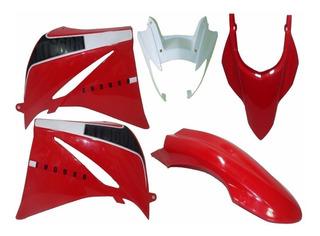 Kit De Carenagem Adesivado Yamaha Xt 660r Vermelho 2014